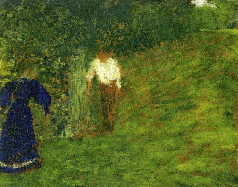 Édouard Vuillard - Man and Woman beneath a Tree
