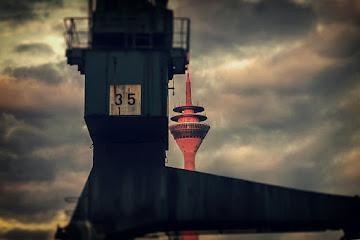 Medien Hafen Dusseldorf, Germany