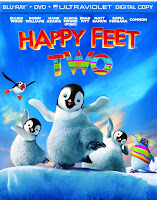 happy feet 2, dvd, bluray, combo, front, cover, image