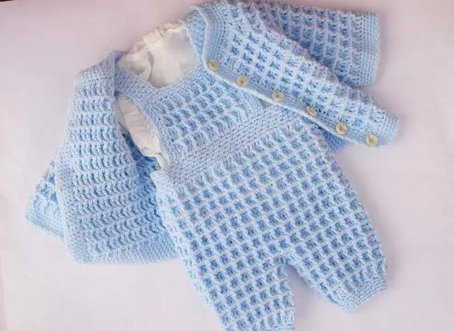 Peto o Jardinero Crochet