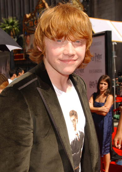 6 Rupert Grint 4 Million For Harry Potter and the Order of the Phoenix 2007 Age 19