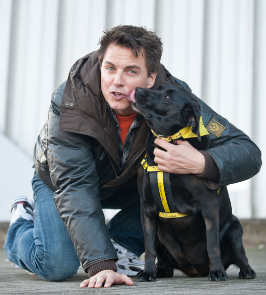 John Barrowman and another dog
