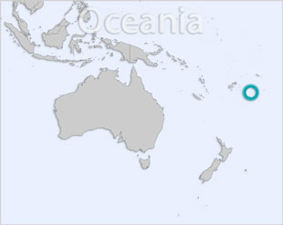 Tonga location map