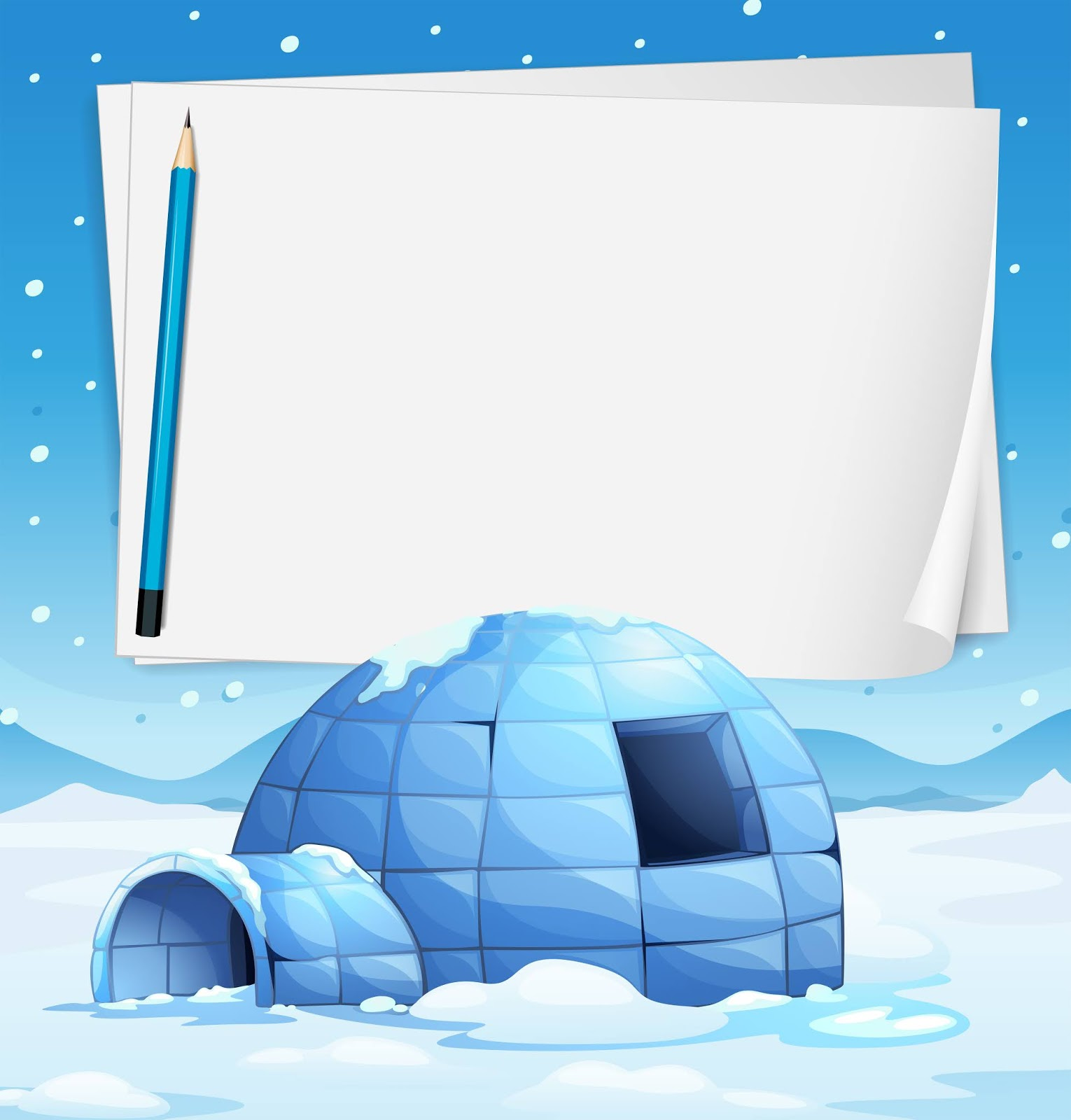Igloo Papers Free Download Vector CDR, AI, EPS and PNG Formats