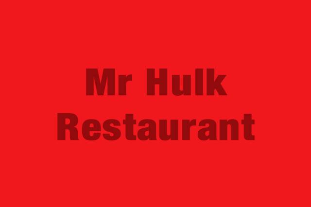 Mr Hulk Restaurant es Partner de la Alianza Tarjeta al 10% Efectiva