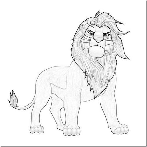 simba rrey leon colorear 1(5)