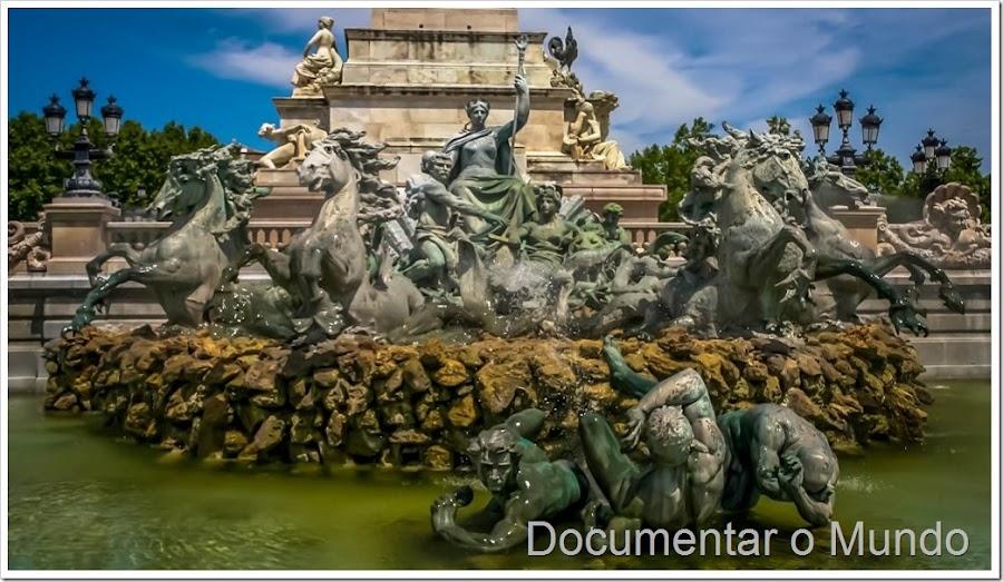 O Monument aux Girondins, Bordéus