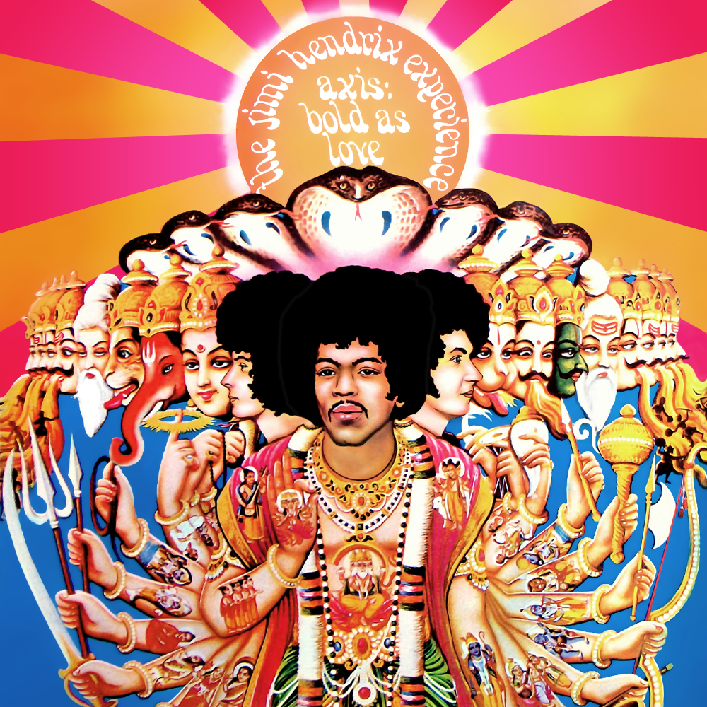 Album Artist: Jimi Hendrix Experience / Album Title: Axis (Bold as Love)