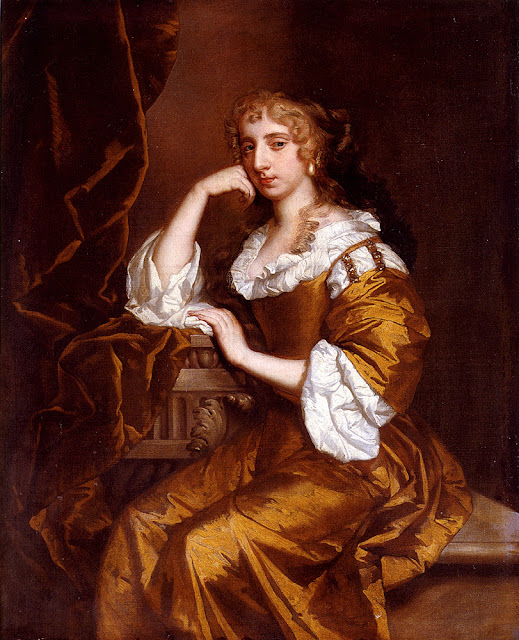 Peter Lely - Portrait Of Mrs. Charles Bertie