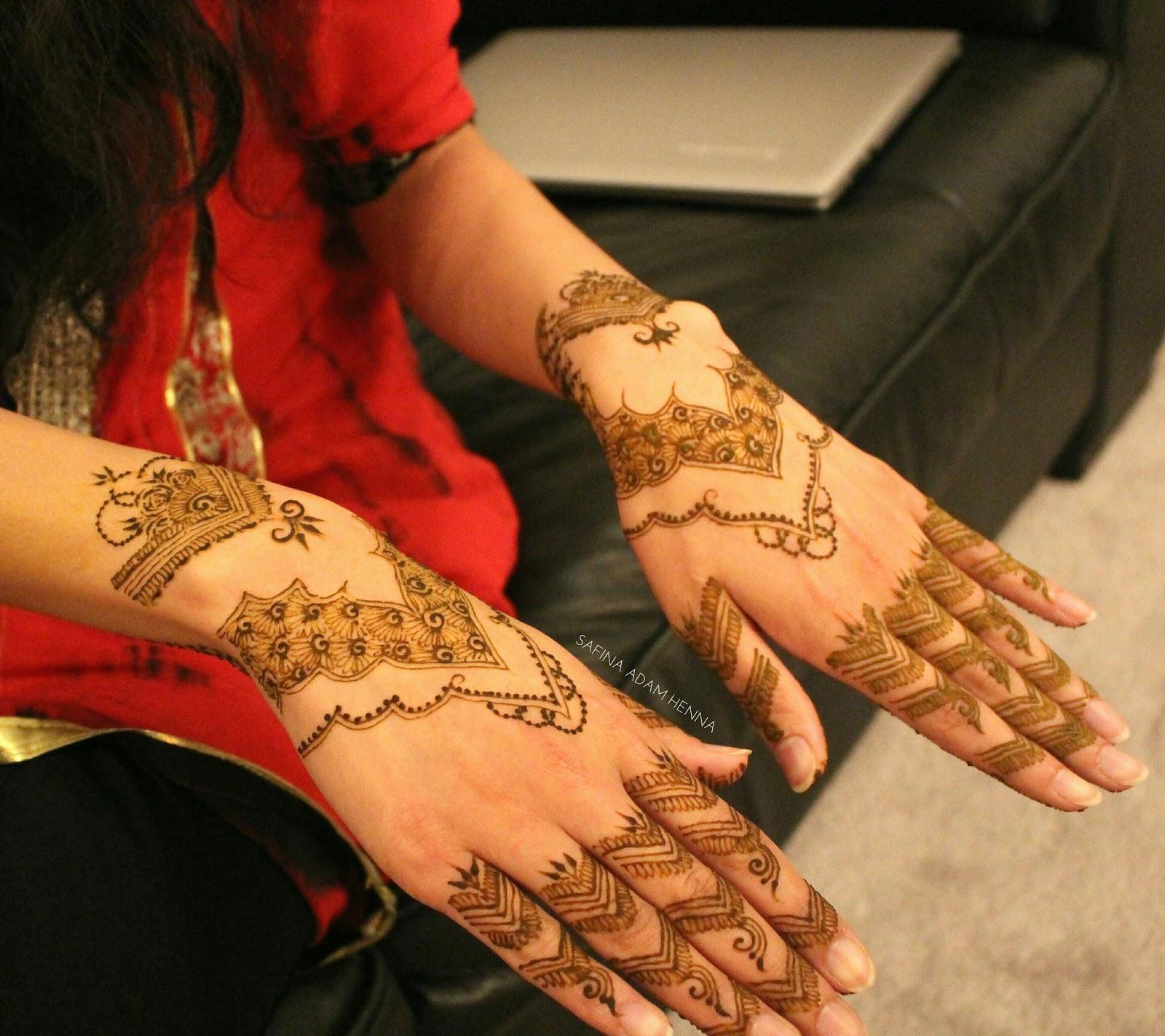 Bridal Henna SafinaAdam