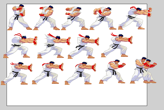 Ryu Hadouken 8 Bit | www.imgkid.com - The Image Kid Has It!