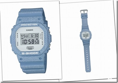 Casio G-SHOCK Denim' D Color Series DW-5600 01