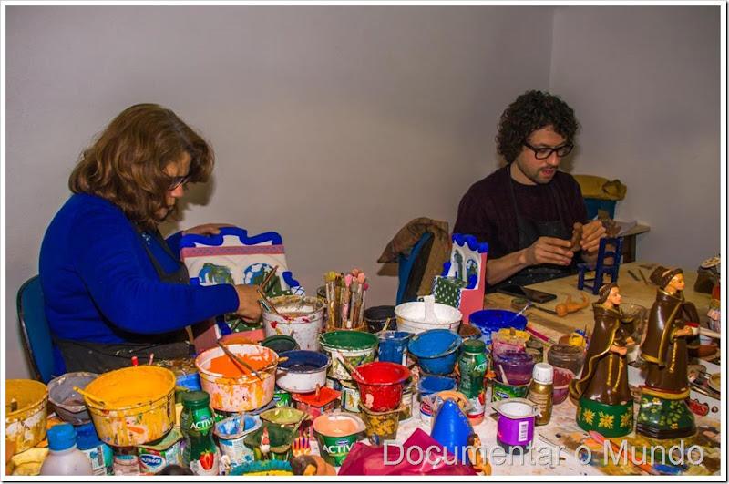 Irmãs Flores, bonecos de Estremoz, Artesanato Estremoz, artesãs Estremoz, figurado de Estremoz, barrística de Estremoz