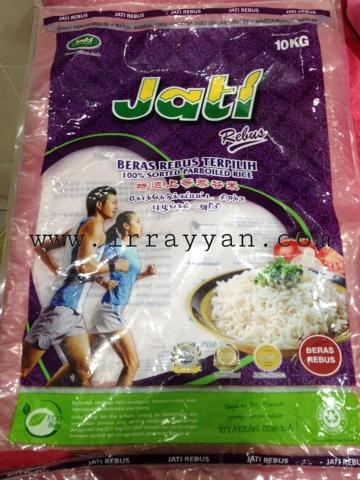 Beras Rebus Parboiled Rice JATI
