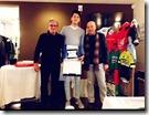 2 W 2 - Emanuele Marin premiato alla festa