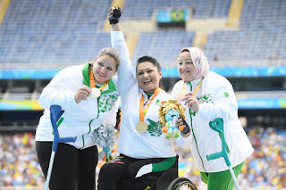 Jeux paralympique: septième médaille pour l'équipe algérienne