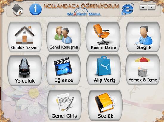 Hollandaca Eğitim Seti Türkçe Full İndir