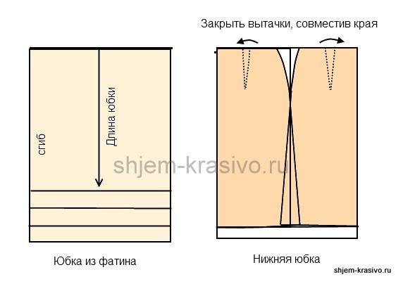 юбка - полусолнце