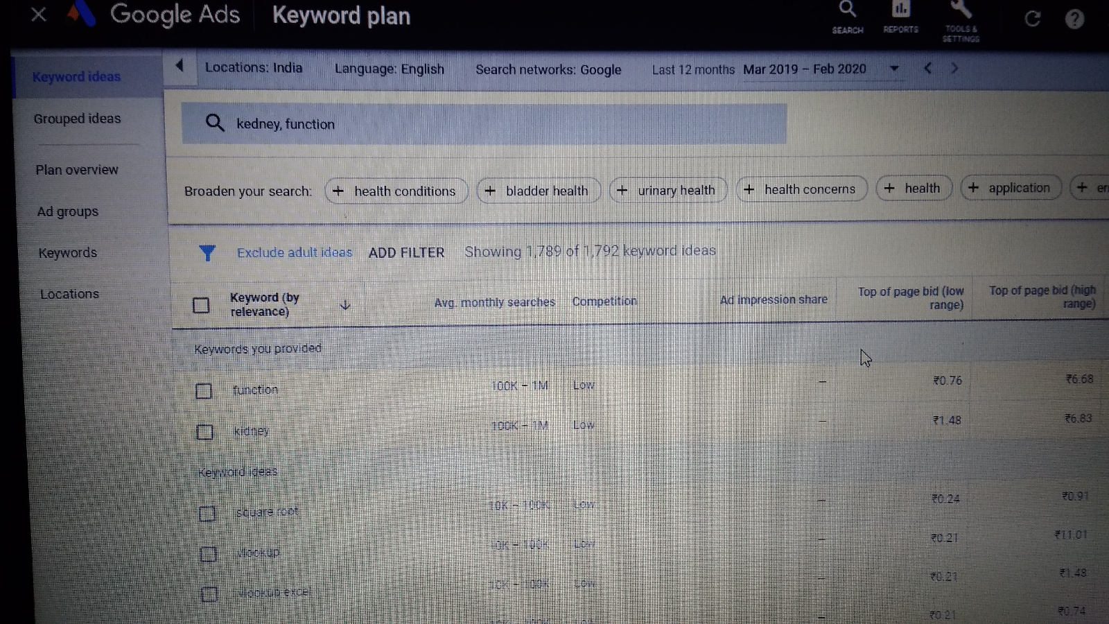 Today we are going to tell you about Google Keyword Planner is Google's product through which     you can do keyword research for free and find out the best keywords.