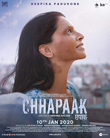 Poster Of Bollywood Movie Chhapaak 2020 300MB Pdvd Full Hindi Movie