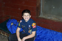 One of the webelos