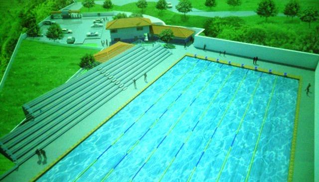 Pensar grande piscina olimpica em salvador for Metros piscina olimpica