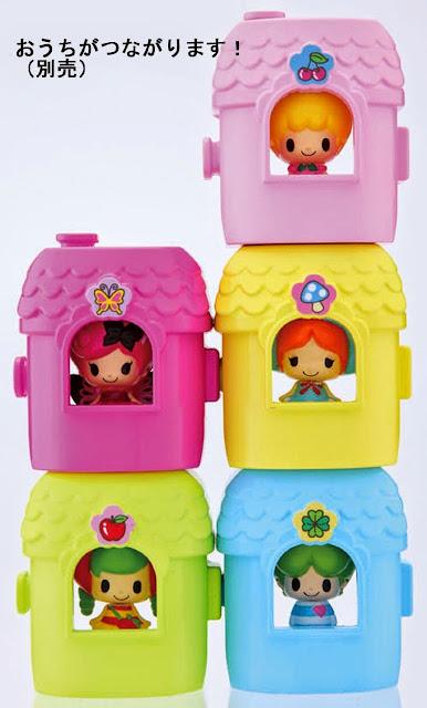 Búp bê Koeda - KF 01 Mini House with Koeda có thể xếp chồng lên những ngôi nhà khác