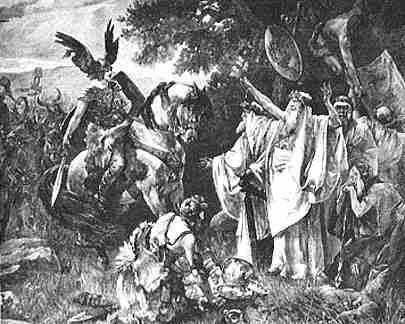Herman The Cheruscan Arminius, Asatru Gods And Heroes