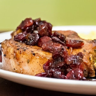 Slow Cooker Pork Chops with Cherry
