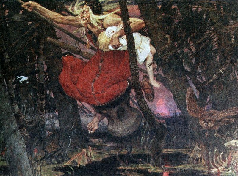Baba Yaga, Gods And Goddesses 1