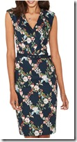 Oasis Fitzwilliam Floral Pencil Dress