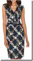 Oasis Fitzwilliam Floral Pencil Dress