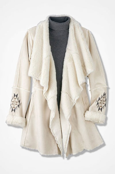 Snow Peak Faux Shearling Coat