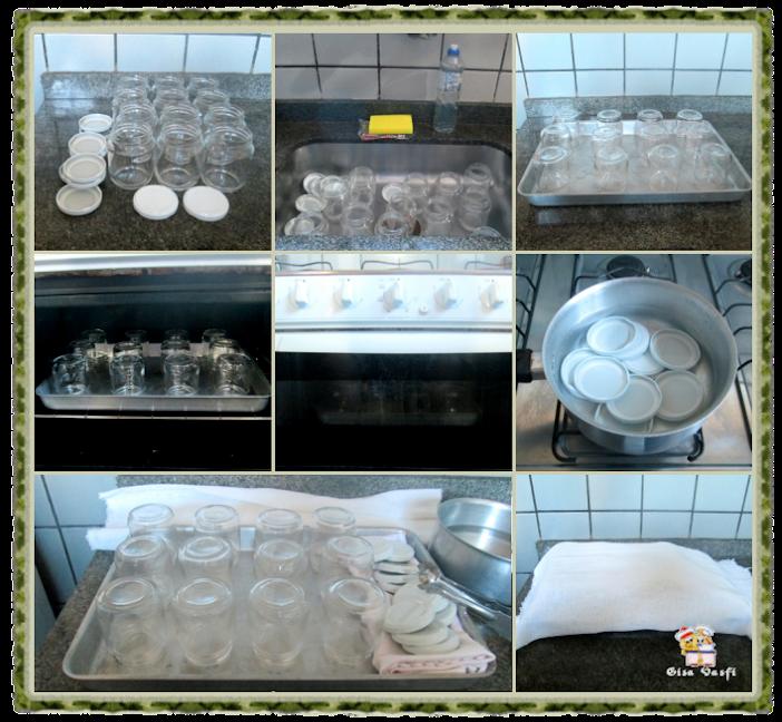 Esterilizando vidros de conserva 3