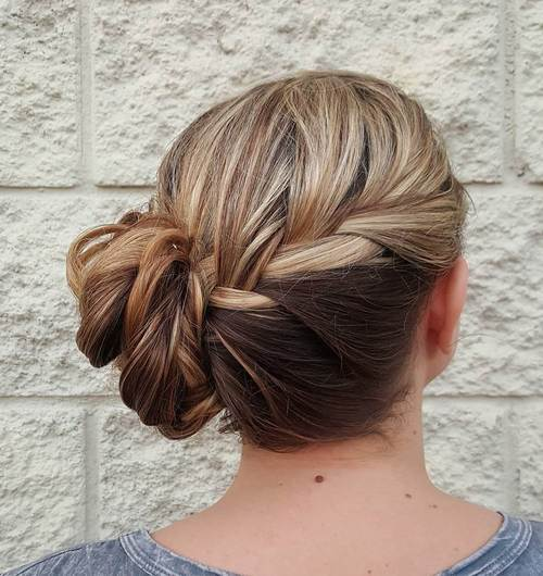The Trendy Bun Hairstyles For Casual And Formal In Current Year 2017 7