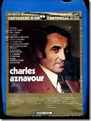 CHARLES-AZNAVOUR-Cartouche-dor-Rare-8-track-Cartridge