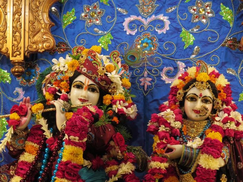 ISKCON Vallabh vidhyanagar Deity Darshan 07 jan 2017 (2)