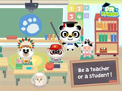 Dr. Panda School- screenshot thumbnail