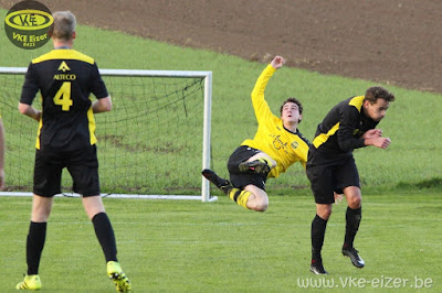 1e ploeg - Berg-Op: 1-1