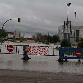 Inundaciones en Montijo