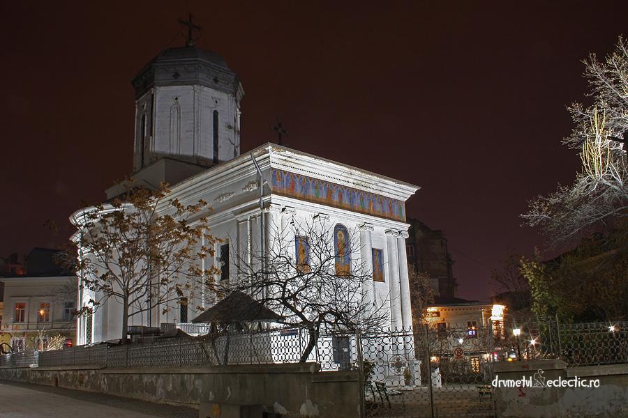 Bucuresti Bucharest centrul vechi church juramant arhitectura
