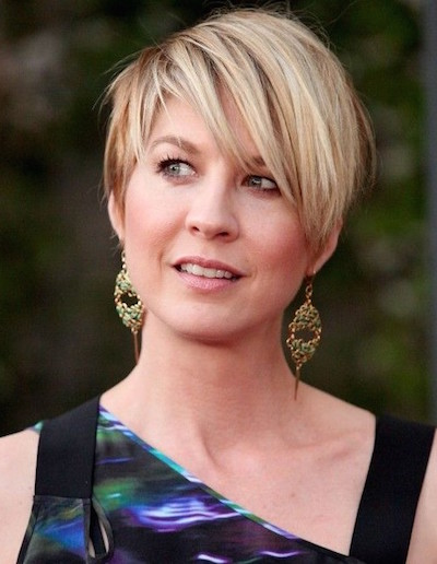 2018 Short Hair With Bangs For Women's 5