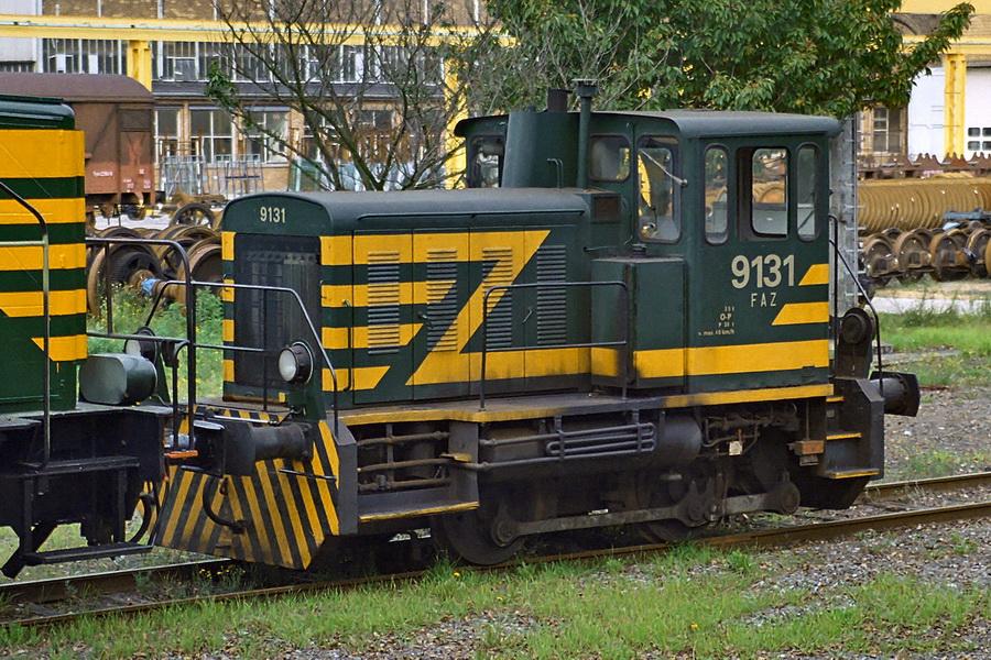 9131 in de werkplaats van Salzinnes op 21 oktober 2000 (foto Axel Vermeulen).jpg