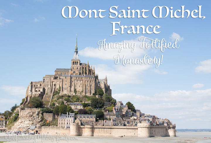 Mont Saint Michel, France - Amazing Fortified Monastery!