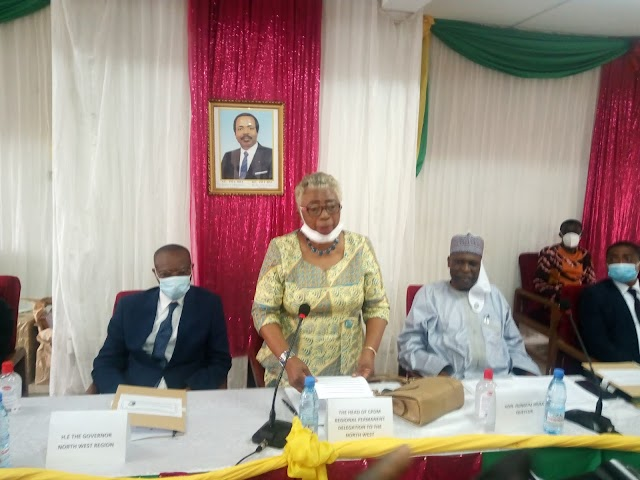 At CPDM Mayors, MPs Conclave Paul Achobong Calls for Amendment of Constitution
