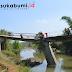 Jembatan Nyaris Ambruk di Sukabumi, Seperti Ini Kondisinya