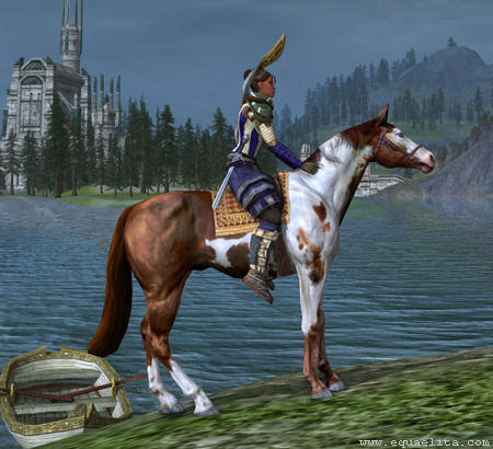 Лошадь в Lord of the Rings Online
