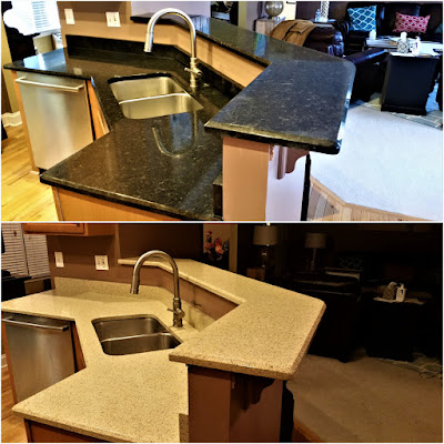 Countertop Refinishing, Kitchen Resurfacing 18