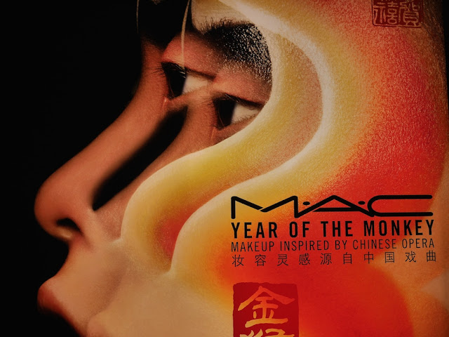 """Year of the Monkey Makeup Inspired by Chinese Opera"""