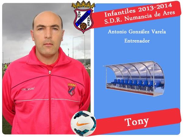 ADR Numancia de Ares. TONY